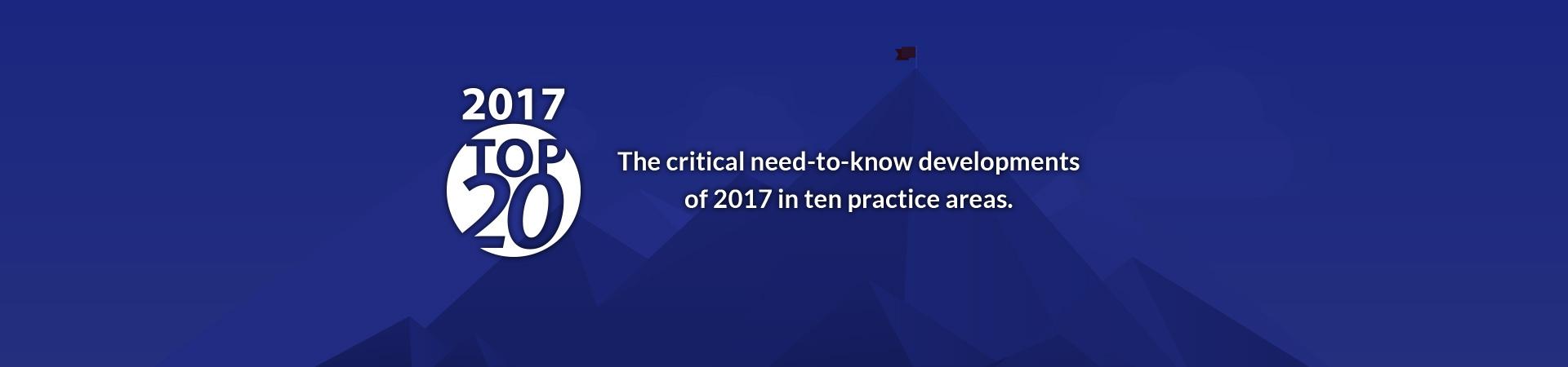 CEB's 2017 Top 20